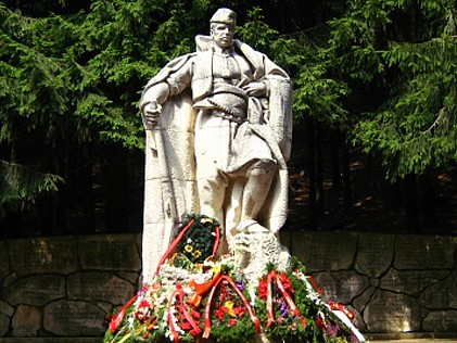 Hadzi Dimitar - monument at Buzludzha peak