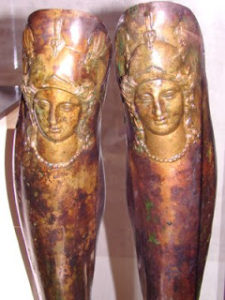 Seuthes III leg guards