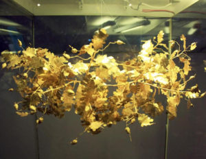 Golden Wreath Golyama Kosmatka mound - Seuthes III burial