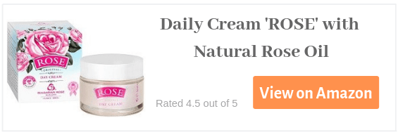Daily Cream with rose oil