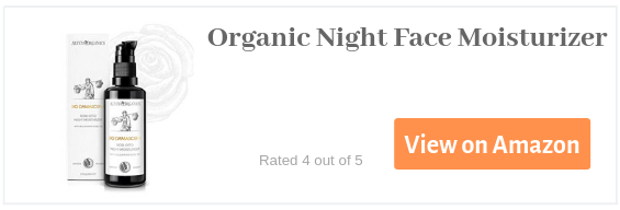 Organic Night Face Moisturizer