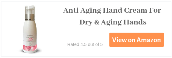 anti aging hand cream for dry and aging hands